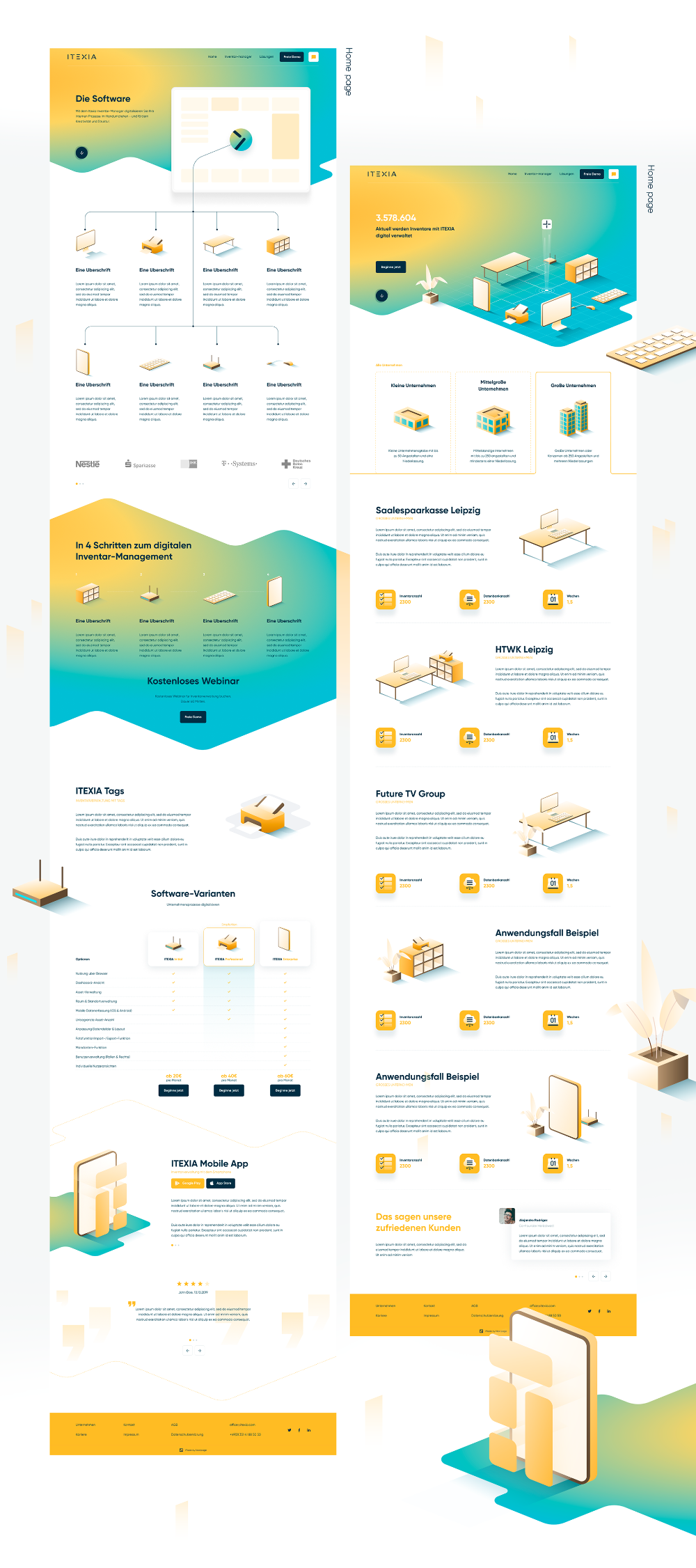 Itexia On Behance In 2020 Consulting Branding Professional Website Design Business Process