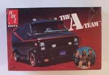A Team Gmc Van Tv Show Vintage 80 S Amt 1 25 Model Kit Vtg Htf