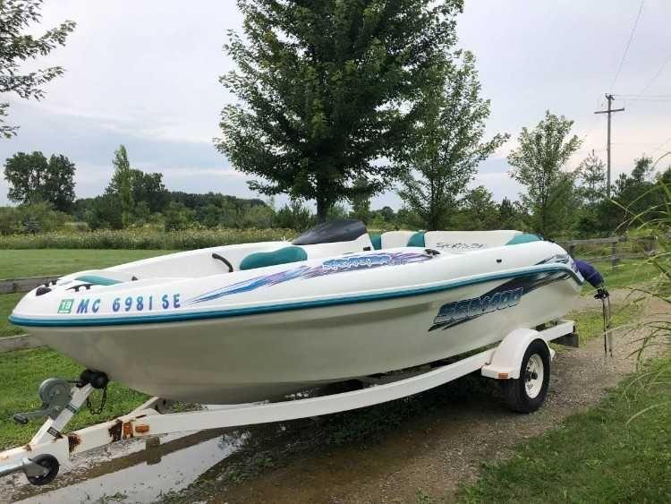 SeaDoo Jet Boat%2C and SeaDoo Jetski Combo %2F Twin Rotax