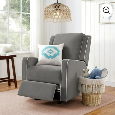 Top 3 Budget Recliners That Look Stylish Online Virtual Interior Design Julie Ann Rachelle Rocking Chair Nursery Nursery Rocker Recliner Reclining Rocking Chair