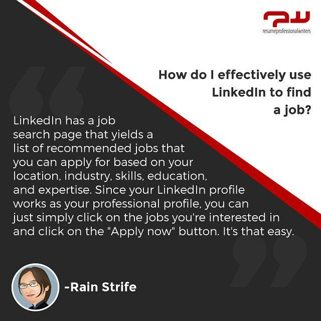 Question Of The Week How Do I Effectively Use Linkedin To Find A