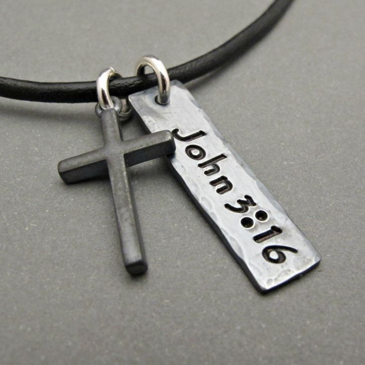 Mens cross necklace mens cross jewelry cross pendant boy gift mens cross necklace mens cross jewelry cross pendant boy gift gift for men custom jewelry fathers day gift cross charm mozeypictures Image collections