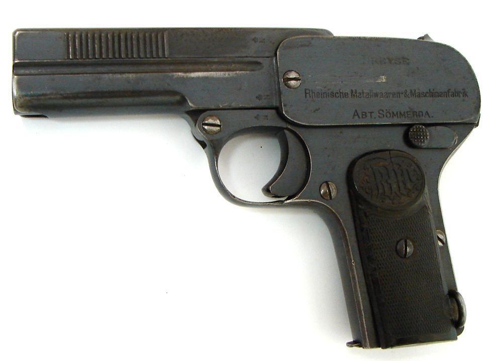 Dreyse 1907 .32 ACP (PR22175) - Collectors Firearms