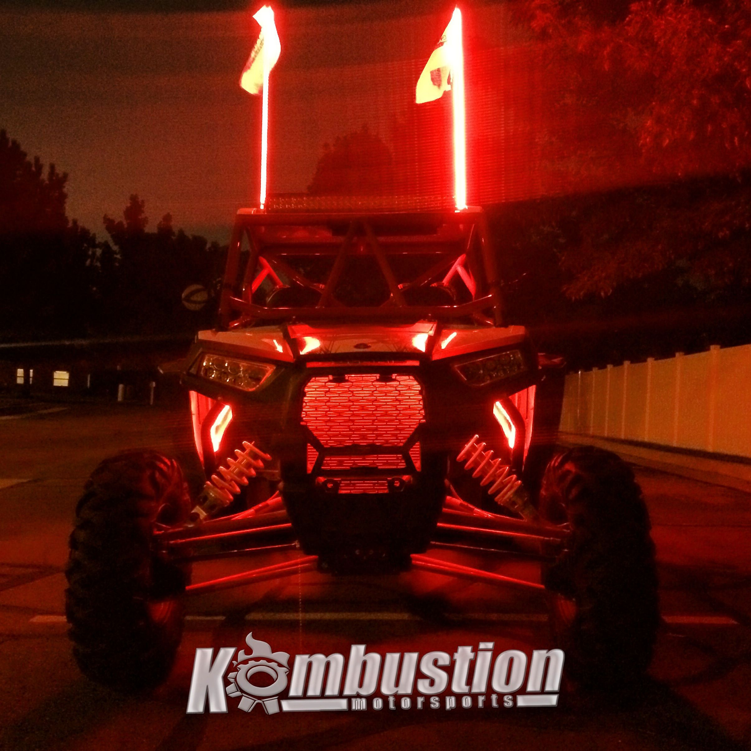 light up the night with whips and under glow