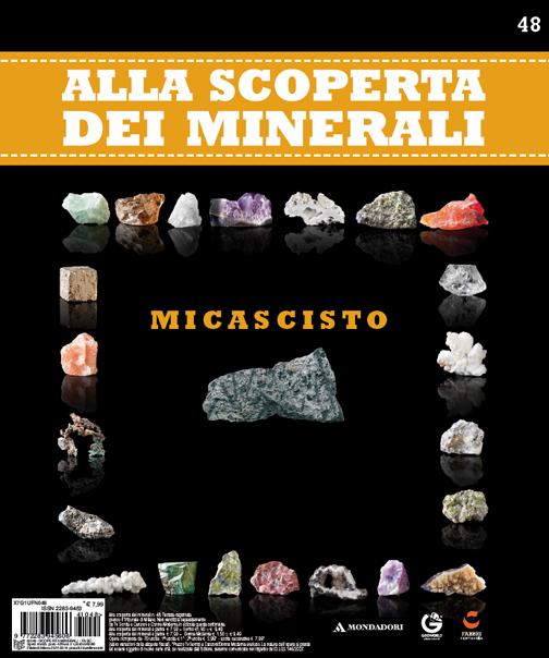 Micascisto #edicola #minerali #collezione