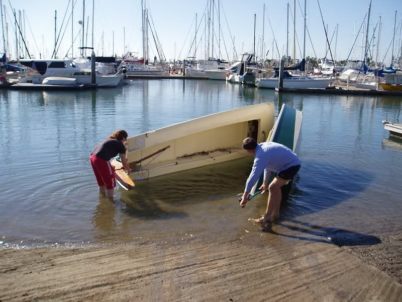 Bolgers Folding Schooner A Boat That Rides On A Normal - Bolger micro trawler boats