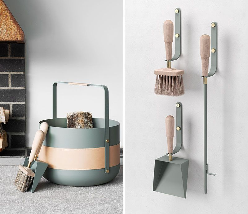 These New Contemporary Scandinavian Fireplace Accessories Are Designed With Beauty Simplicity And Form In Mind Fireplace Accessories Scandinavian Fireplace Contemporary Fireplace Accessories