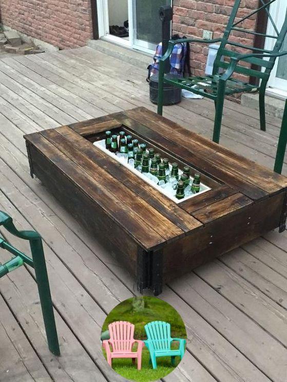 Wood Patio Furniture Pallet