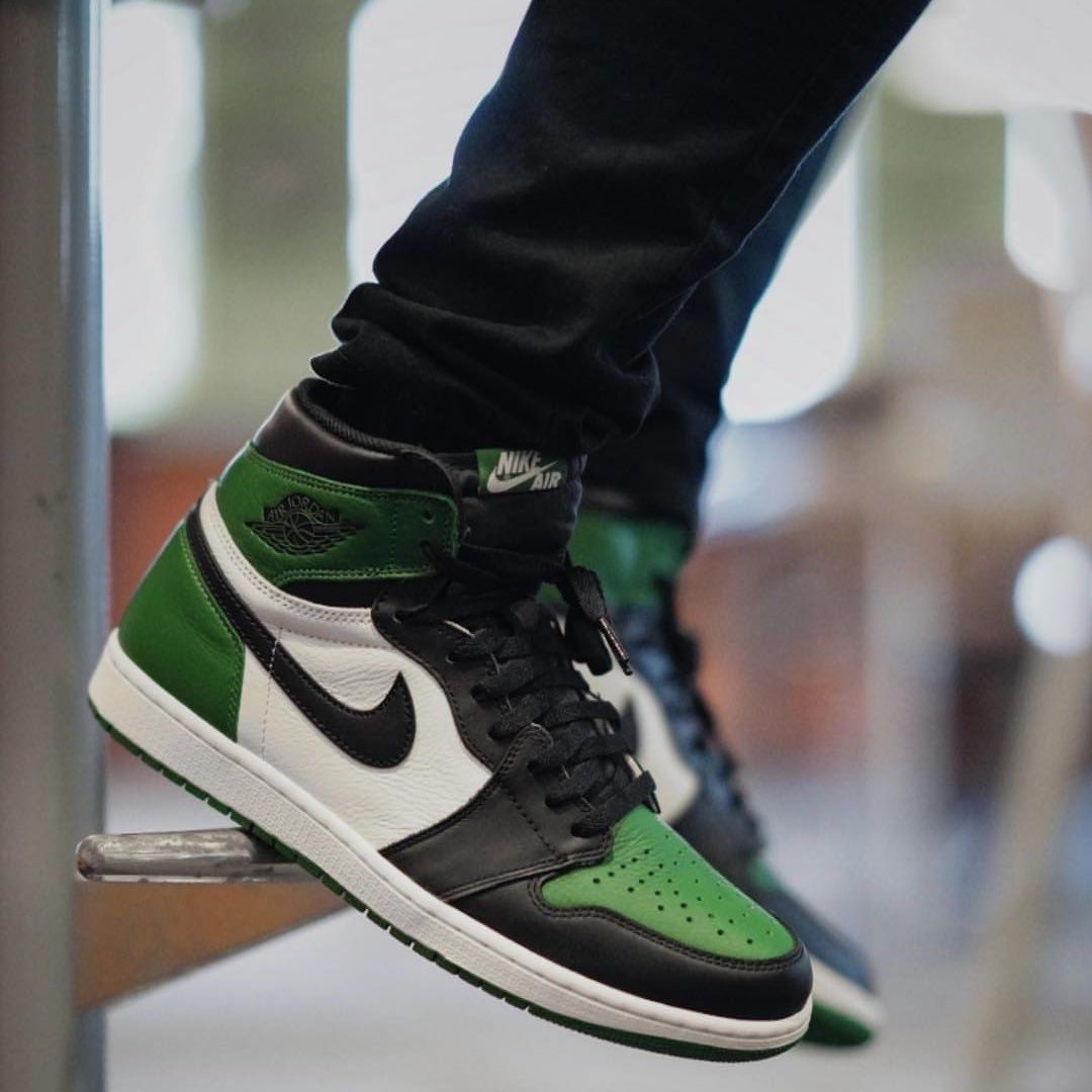 Insidesneakers Air Jordan 1 Retro High Og Pine Green 555088 302 Air Jordans Jordans Sneakers Outfit Sneakers Men Fashion