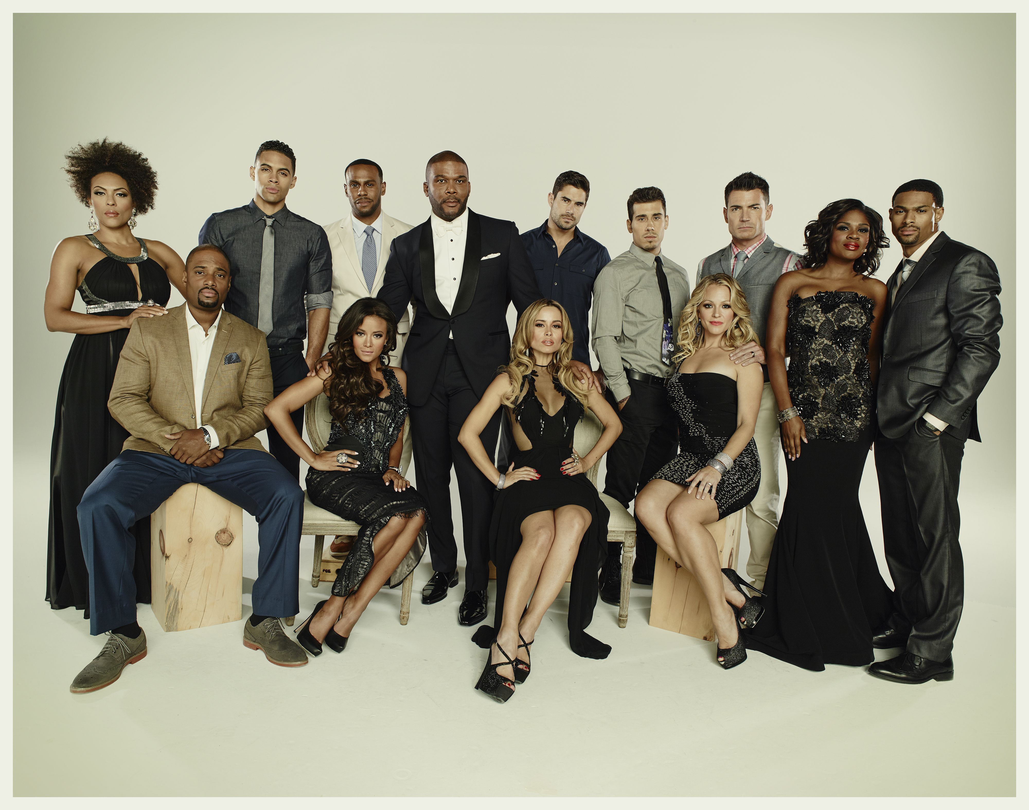 Owns Tyler Perrys If Loving You Is Wrong Full Cast Image With