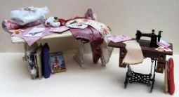 Beginners Corner - The Miniature Sewing Room Table