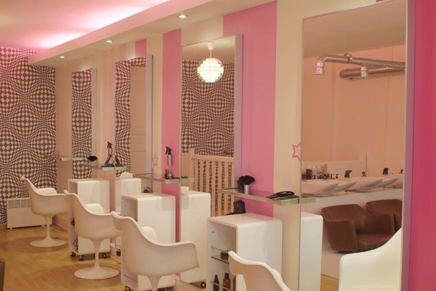 Pink Salon Victoria Secret Rooms Salon Decor Spa Inspiration