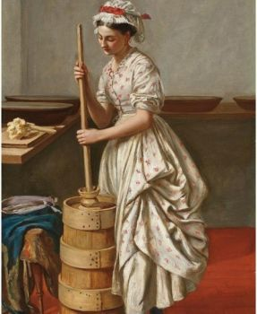 Valentine Cameron Prinsep--The butter churn (80 pieces)