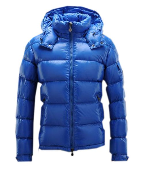 0917224df Moncler Maya Winter Mens Down Jacket Fabric Smooth Blue  222.99 ...