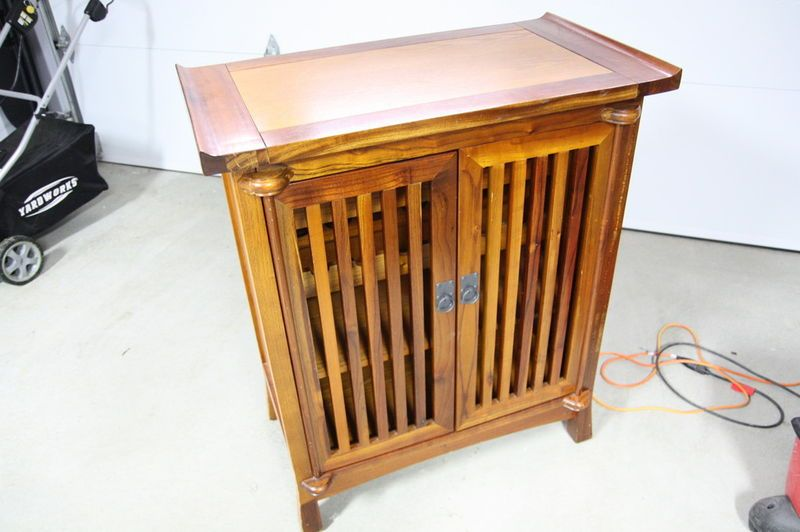 Kijiji buffet cellier en bois massif buy or cry