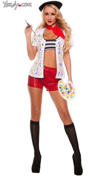 aad713049d DIY version of Picasso Girl Painter Costume