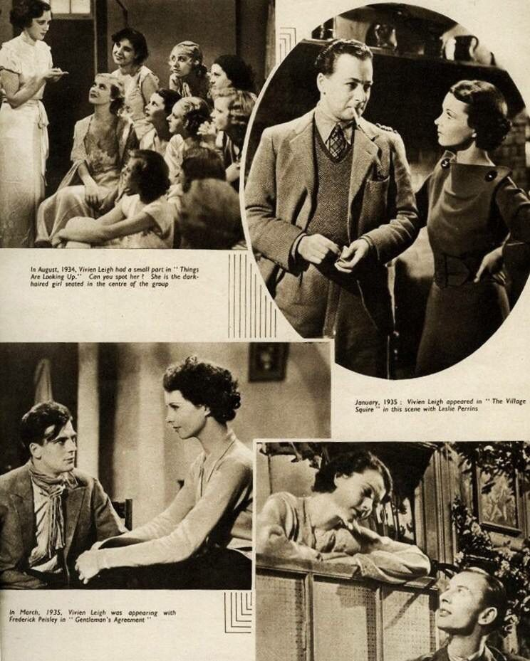 Vivian Leighs Early Movies Things Are Looking Up Village Squire