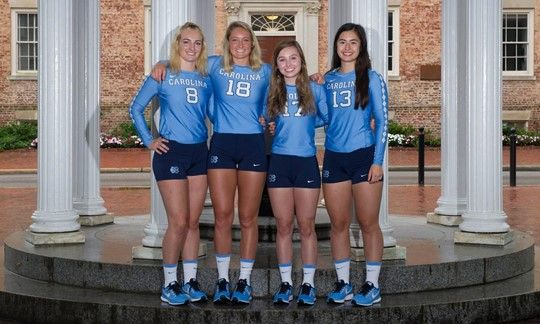 2017 First Look Defensive Specialists University Of North Carolina Athletics Volleyball News First Look Athlete