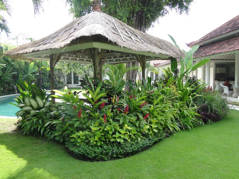 Elang villa bali landscape company garden and pavings for Landscape villa design