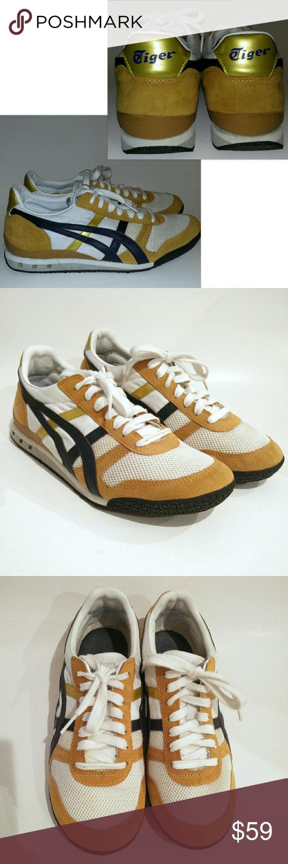 Onitsuka Tiger Asics HN201 Yellow Gold