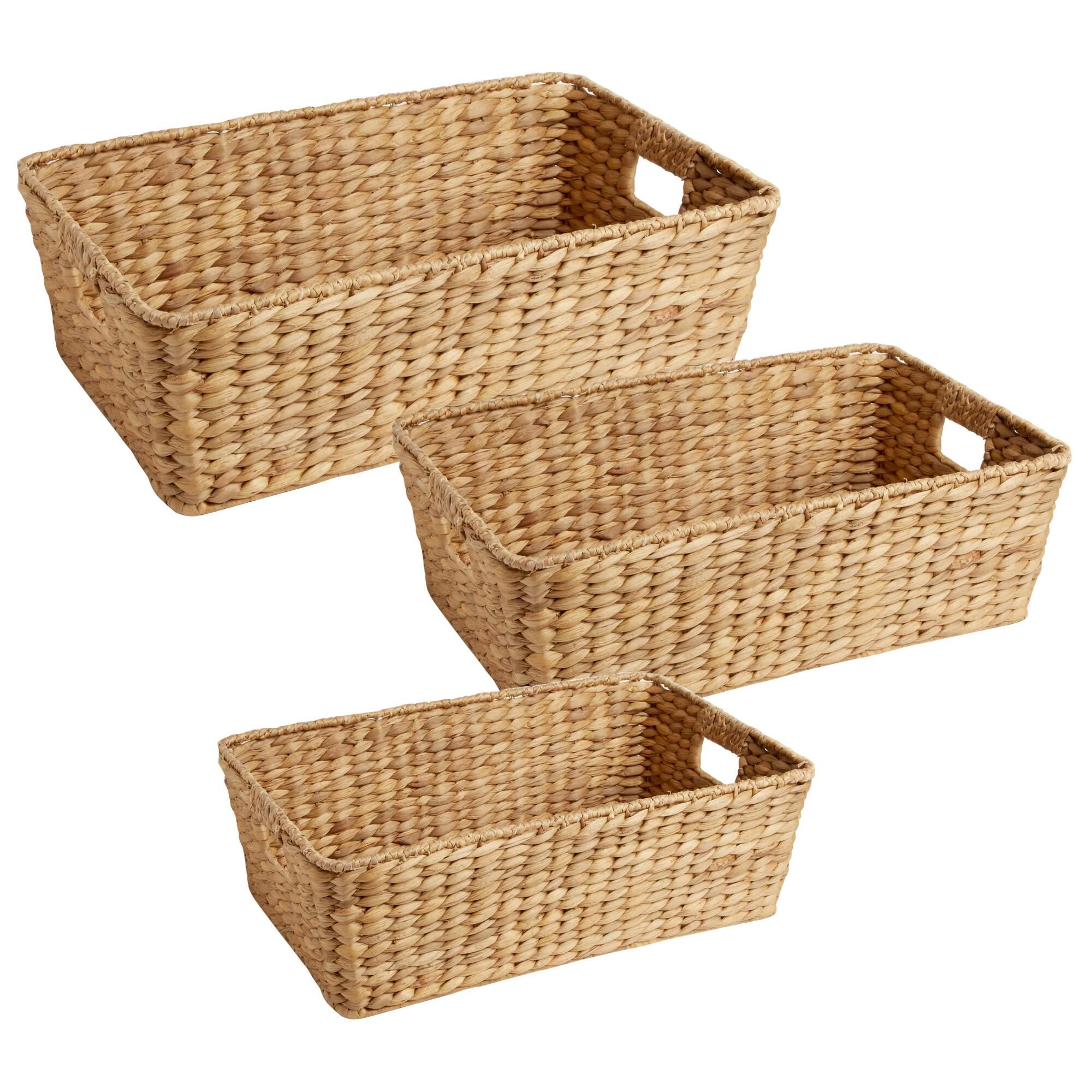 Home underbed storage baskets wicker underbed storage basket - Optimize Your Space With The Versatility Of Our Water Hyacinth Storage Basket Easily Sliding Under Under Bed Storagestorage Basketshamperextra