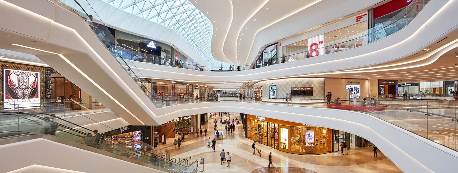 bb703a12c8 ... Hanam Shopping Centre  lighting  retail  Retaillighting  Intensitylight   Intensity  LED  modern  Design  Track  Spots  supermarket  store  spar   profile