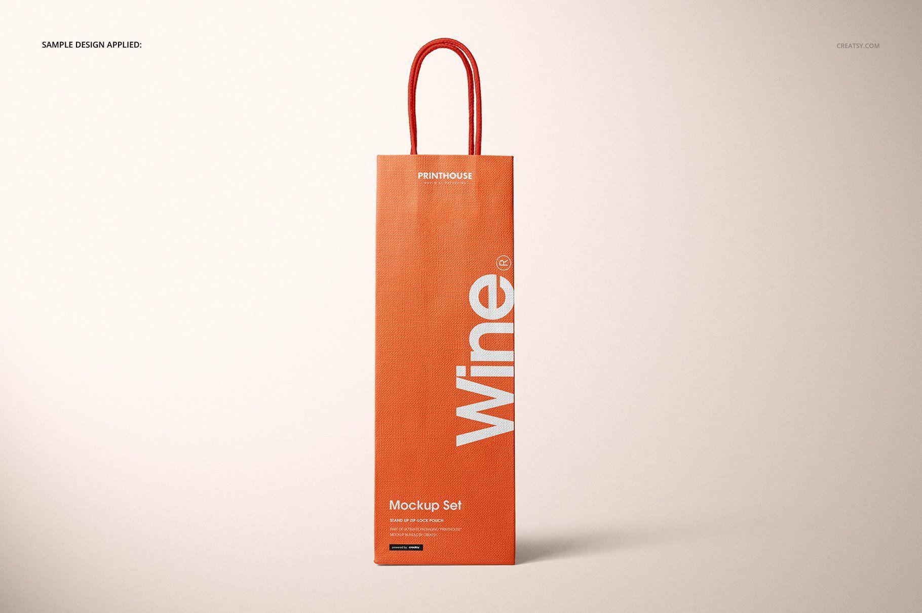 Download Eurotote Wine Tote Bag Mockup Set Wine Tote Bag Wine Tote Bag Mockup