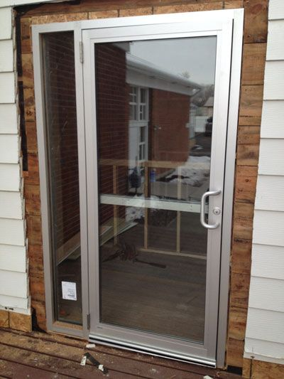 Commercial Glass Store Front Entry Doors Are Completely Preassembled