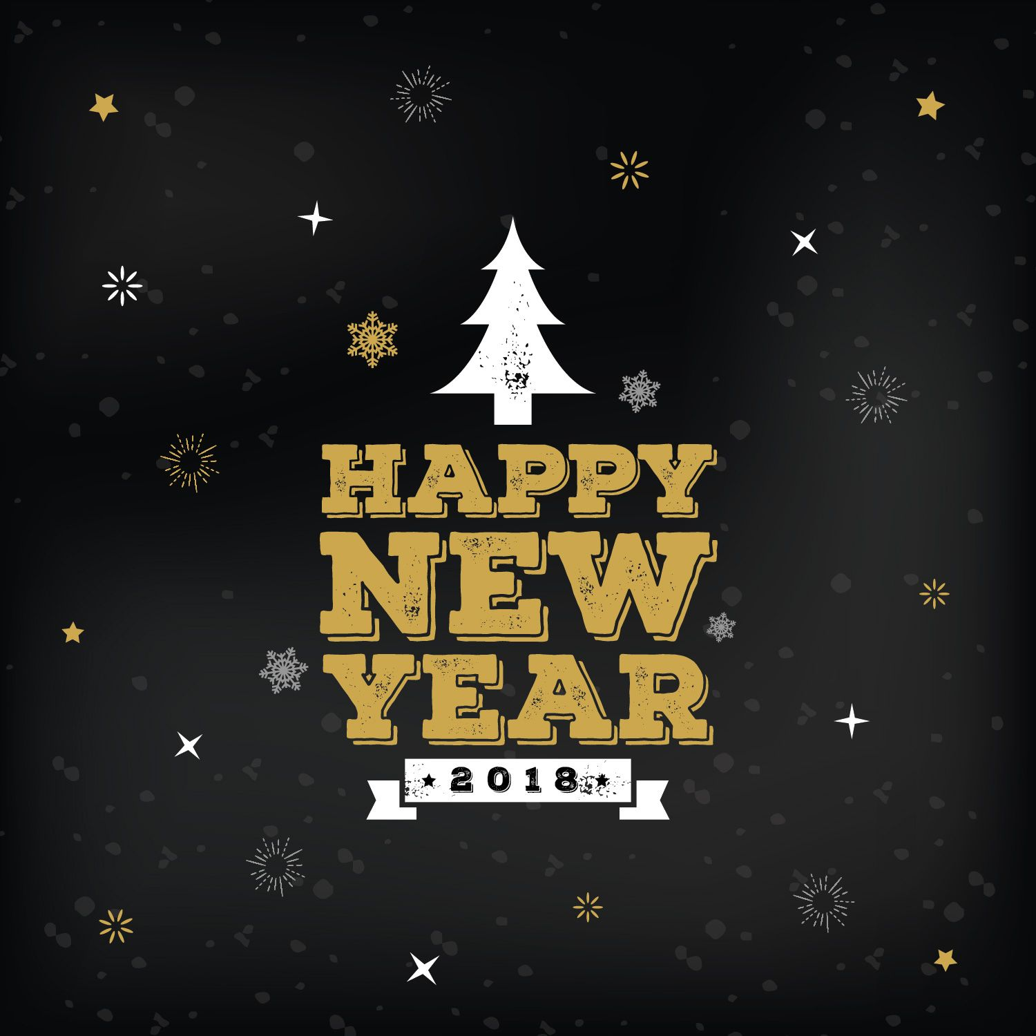 Free New Year Greeting Card Templates 03 Dribbble Graphics