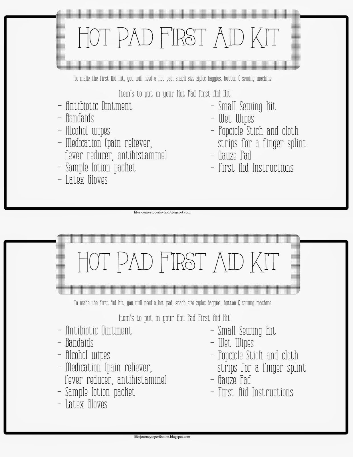 Emergency Preparedness Super Saturday Ideas Relief