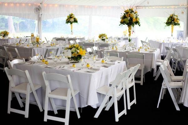 Yellow And White Wedding Decor Tbrb Info