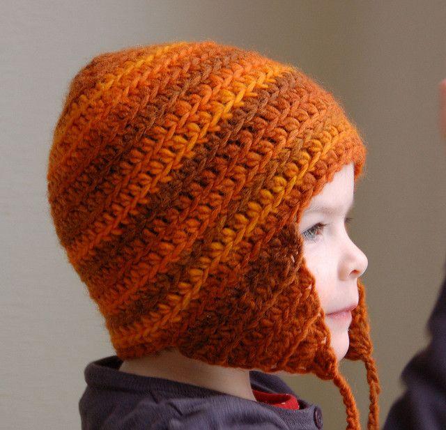 Crochet Earflap hat | Crafty Ideas | Pinterest