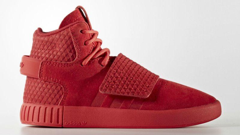 Adidas Tubular Invader - Red October!