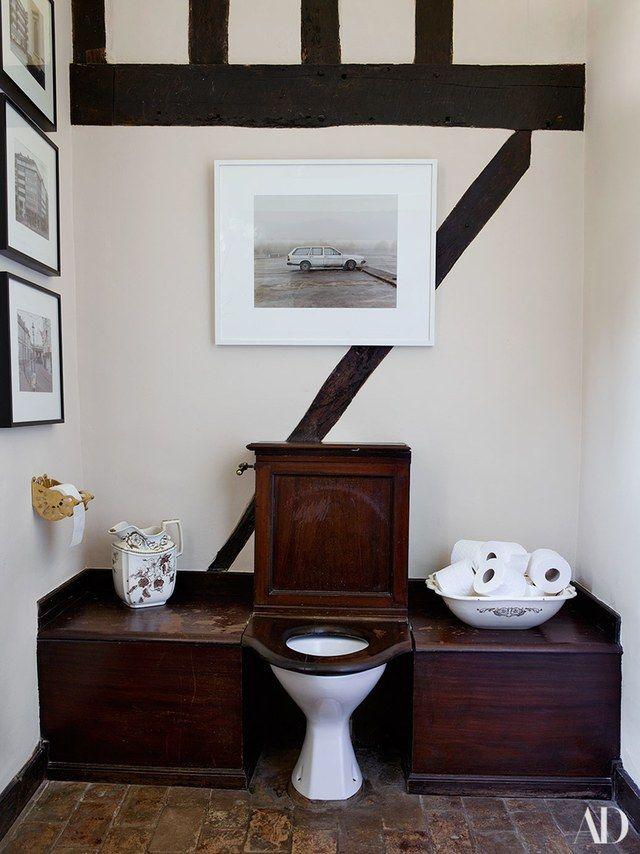 Luxury bathroom ideas inspired by claudia schiffer s tudor for Tudor bathroom design