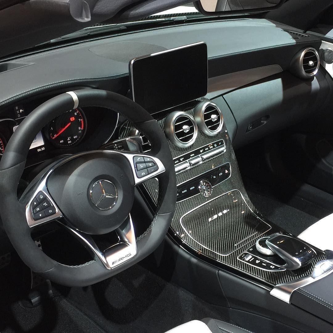Nice Interior On The Mercedes Benz Amg C 63 S Convertible