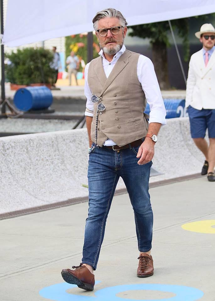 Cool Or Not Chaleco Pinterest Moda Masculina Moda Hombre Y - Moda-para-hombres-maduros