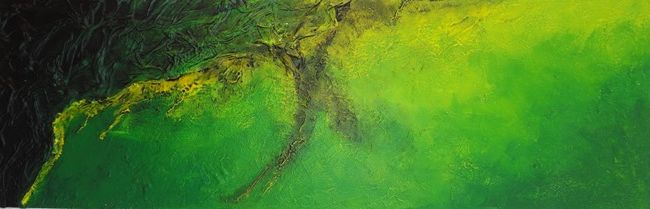 abstract painting acrylic by Jeannette Grotz   more on : www.grotzartig.ch