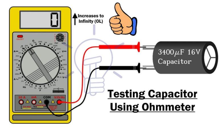How To Perform A Continuity Test For Electric Components With Multimeter Multimeter Electricity Electronic Circuit Projects
