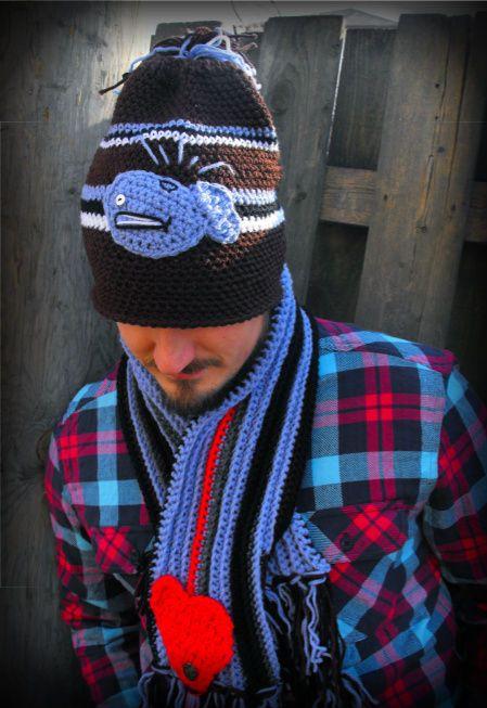 100 Unique Crochet Scarves | ~ CROCHET for men ~ | Pinterest