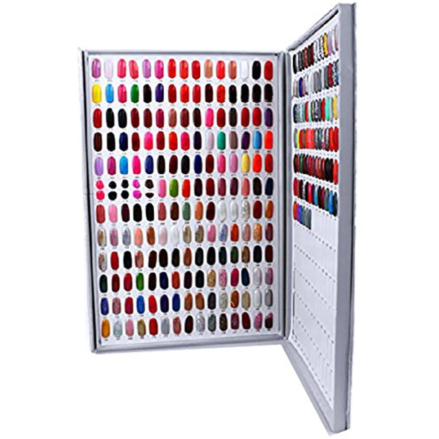 Nail Color Chart Display Gel Polish Practice Design Stick Board Card Art Tools For Salons And Diy At