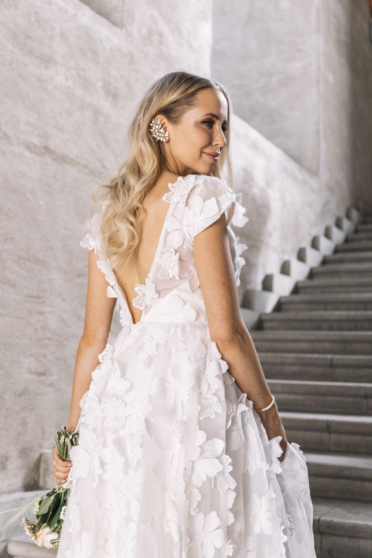 Ida Warg Bröllop Brudklänning