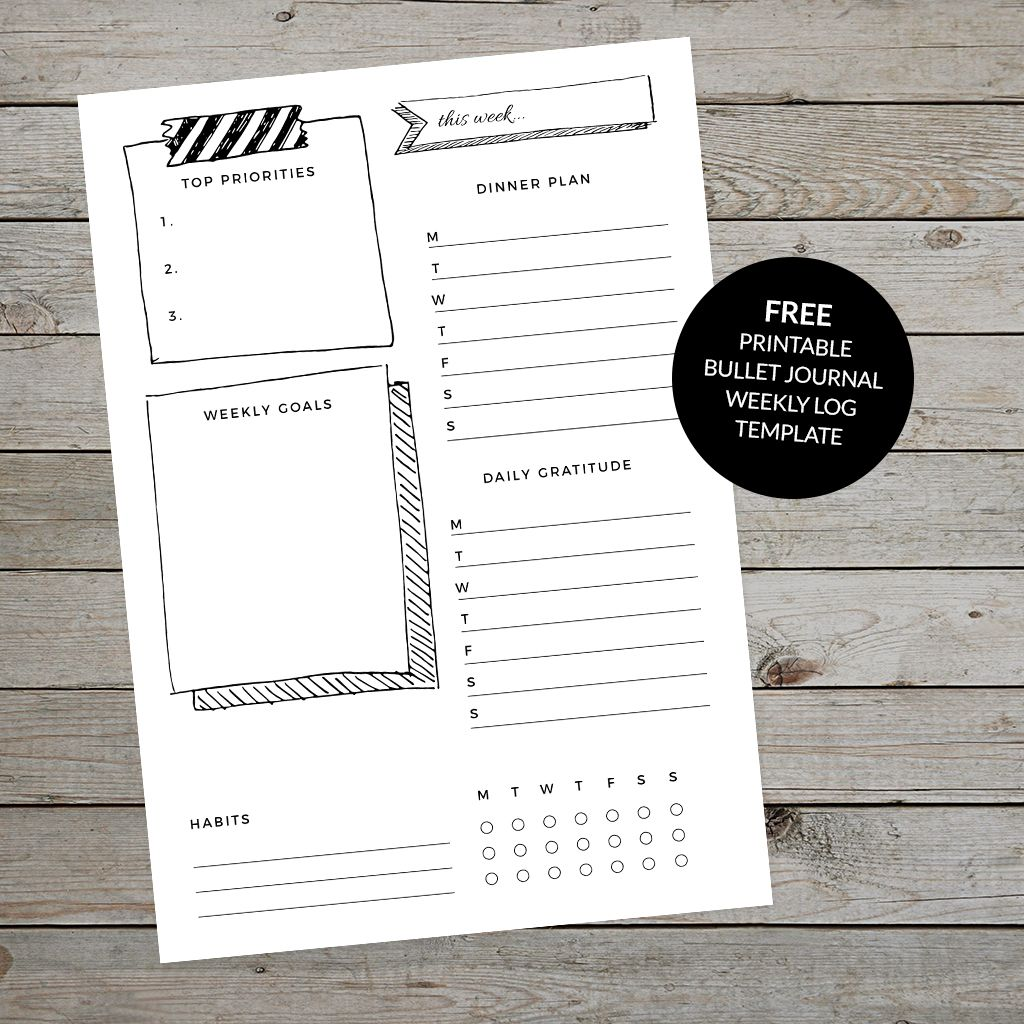 Planner Printables Subscriber Resource Library Bullet Journal Ideas Pages Journal Journal Printables Templates