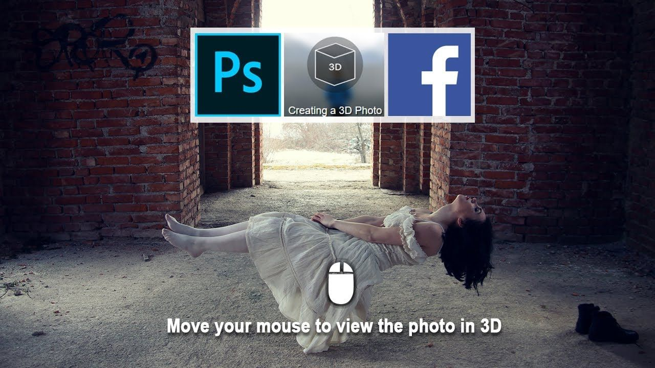 Making Facebook 3d Photo In Photoshop Tutoriales Photoshop Photoshop Tutoriales