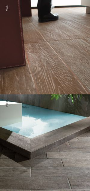 Porcelain Tile Get The Look Of Wood With Durability