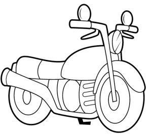 moto.gif | TEMES PROJECTES | Motos dibujos, Moto para colorear y