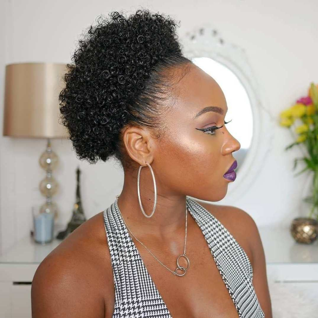 16 Cute Natural Hairstyles for Short Hair with Easy ...