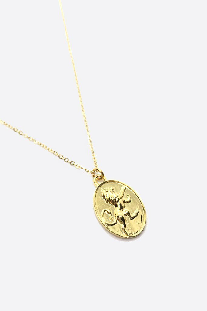 Gold Leo Necklace Leo Necklace Gold Leo Necklace Necklace