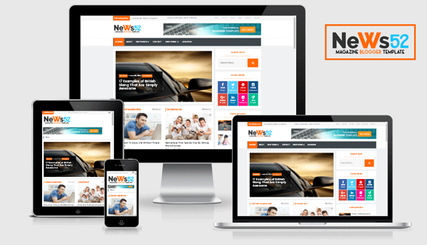 News  Responsive NewspaperMagazine Blogger Template  Ms