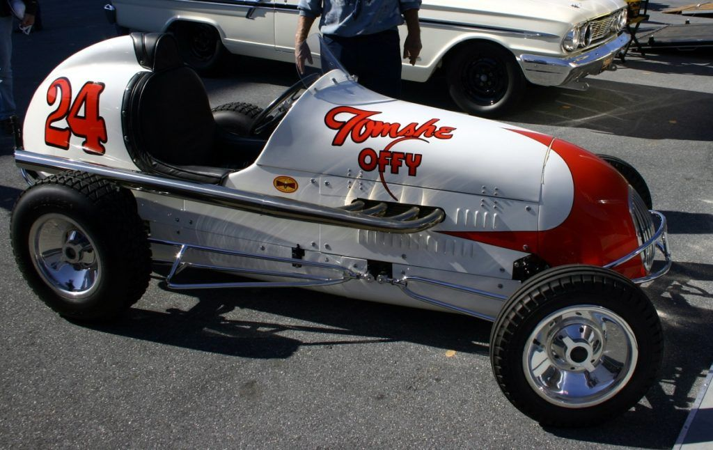 Kurtis craft midget race car