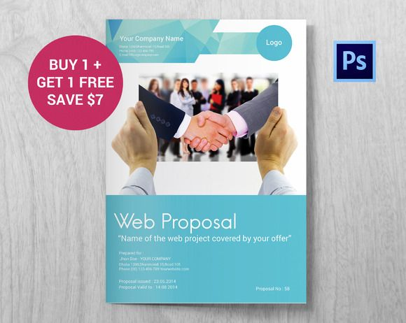 Professional Web Proposal Template  Proposal Templates